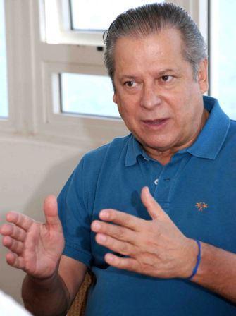José Dirceu, ex-ministro chefe da Casa Civil no governo do presidente Lula