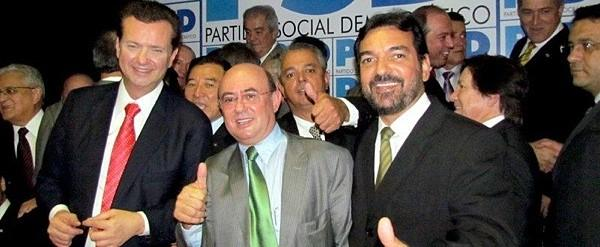 Kassab é o presidente nacional do PSD, partido que tem como sua principal liderança em Mato Grosso o super-processado deputado José Geraldo  Riva