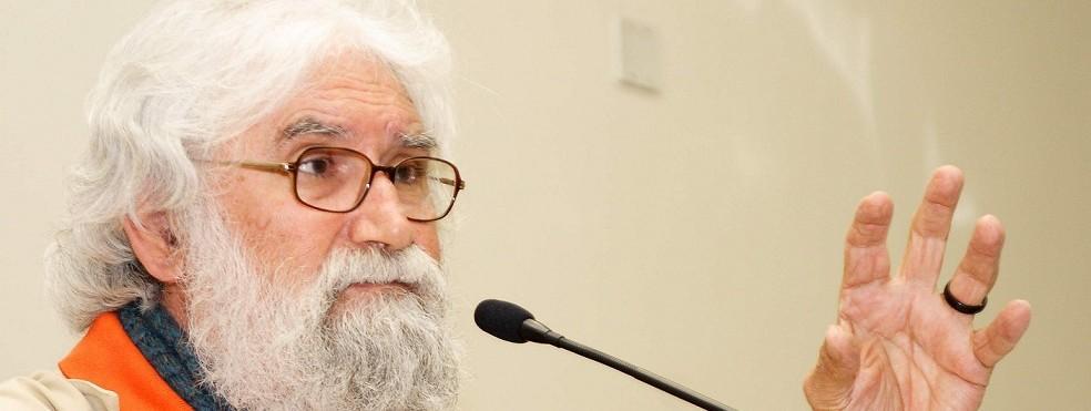 A palestra de Leonardo Boff, em Cuiabá, acontece na terça-feira, a partir das 19 horas, no Buffet Leila Maluf