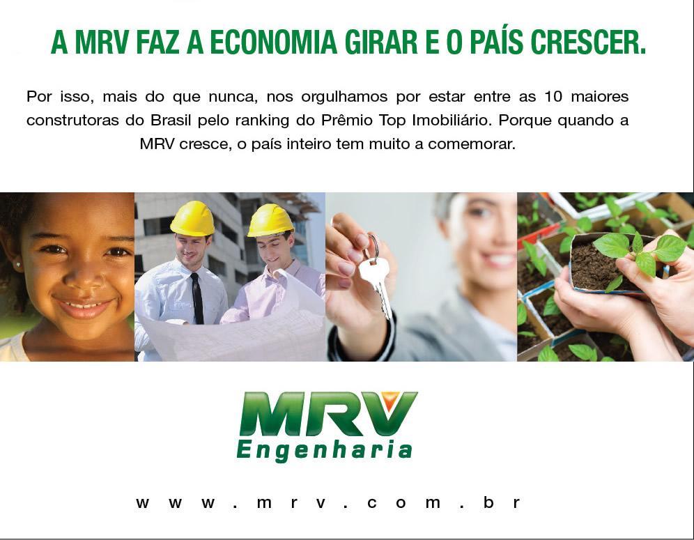 MRV ENGENHARIA FAZ BRASIL CRESCER