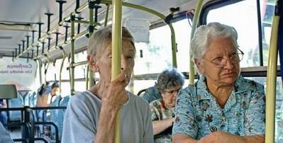 idosos onibus