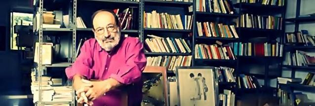 """Umberto Eco, escritor italiano, virou bestseller  com o romance """"O nome da Rosa"""", adaptado pelo  cinema em filme estrelado por Sean Connery"""