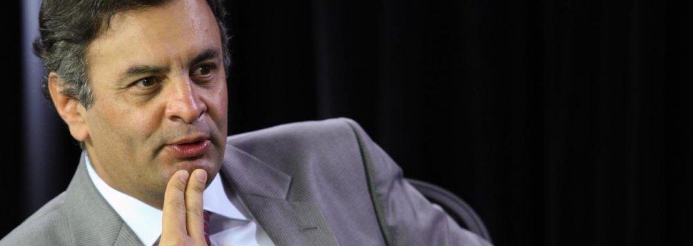 Aécio Neves, senador pelo PSDB de Minas Gerais