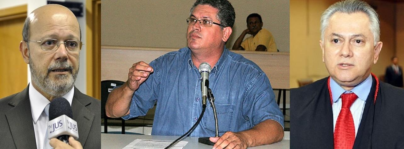 Rubens de Oliveira, o presidente anterior, que prometeu e não cumpriu; o sindicalista Rosenwal Rodrigues, que tentou driblar dois presidente do TJ com um só compromisso assinado; e o desembargador Orlando Perri, que vive agora o desafio de assumir compromissos que possa efetivamente cumprir
