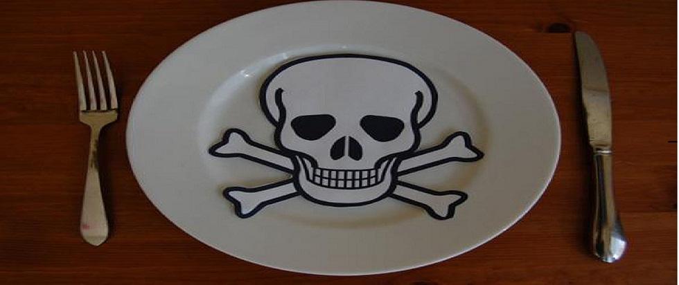 veneno na comida