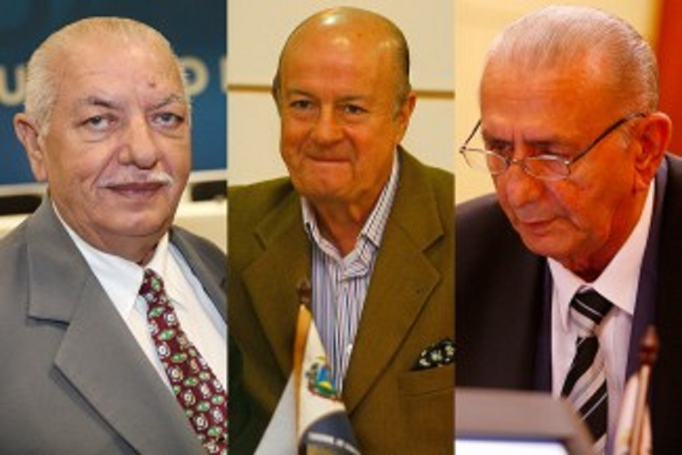 Branco de Barros, Ubiratan Spinelli e Ary Leite de Campos são velhos políticos de Mato Grosso que, apesar de aposentados, continuam estrelando escândalos políticos administrativos em nosso Estado. O cidadão ingênuo há de se perguntar: quando será que esses senhores deixarão em paz os cofres públicos?