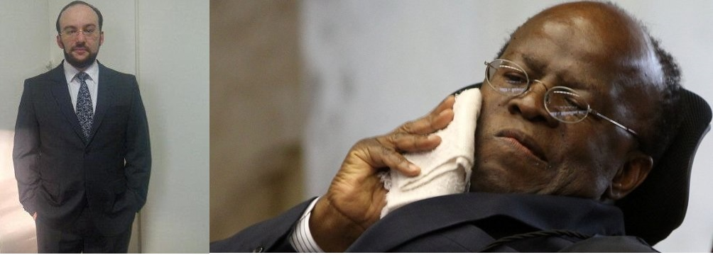 """Eduardo Mahon pede que ninguém se engane com Joaquim Barbosa. Na opinião do advogado, Joaquim Barbosa é, na verdade, um emplumado aristocrata grego que acredita que os """"sábios"""" devem nos governar, escolhidos pelos """"honestos"""", sufragados pelos """"virtuosos"""", indicados por ele."""