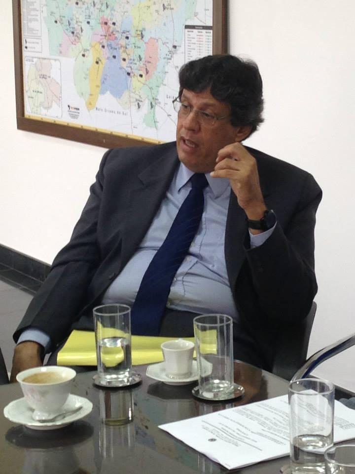 O juiz de direito Francisco Ferreira Mendes Neto, juiz membro efetivo do Pleno do TRE-MT