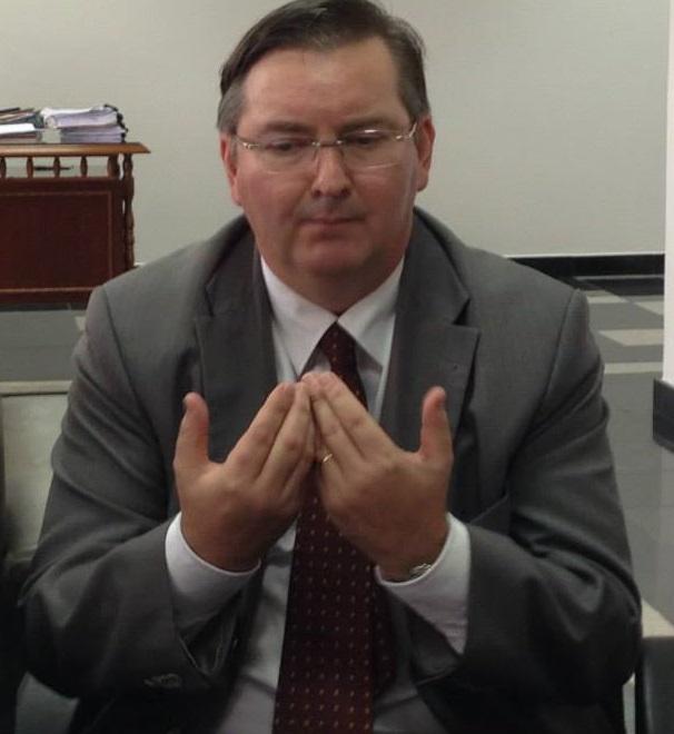 O jurista José Blaszak, juiz membro efetivo do Tribunal Regional Eleitoral de Mato Grosso