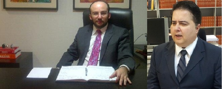 Eduardo Mahon e Roberto Seror. O advogado destaca a contribuição do magistrado que registrou em despacho a precariedade total que se observa na Primeira Instância de julgamentos do TJMT