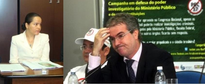 A promotora de Justiça Fânia Helena Oliveira de Amorim se diz alvo de perseguição por parte do atual corregedor do MP em Mato Grosso, procurador Mauro Viveiros. Caso se transformou em rumorosa disputa judicial, levado às cortes superiores em Brasilia.