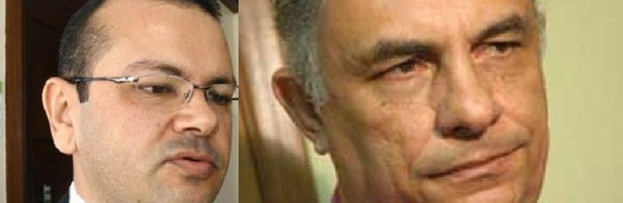 O juiz Alex Nunes de Figueiredo e o conselheiro do Tribunal de Contas, Humberto Bosaipo