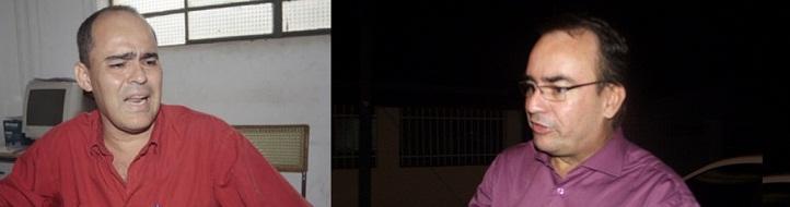 Jairo Rocha, ouvidor da prefeitura de Cuiabá, cuja nomeação para a função está sendo questionada, e o advogado Vilson Nery, do MCCE