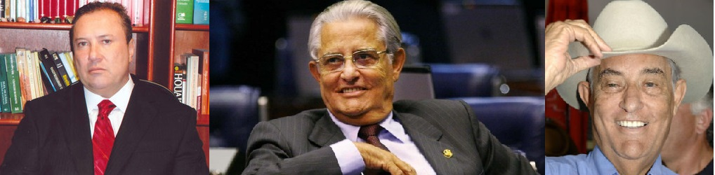 O juiz Jansen Fialho de Almeida, de Brasília, e o ex-governador do Distrito Federal, Joaquim Roriz