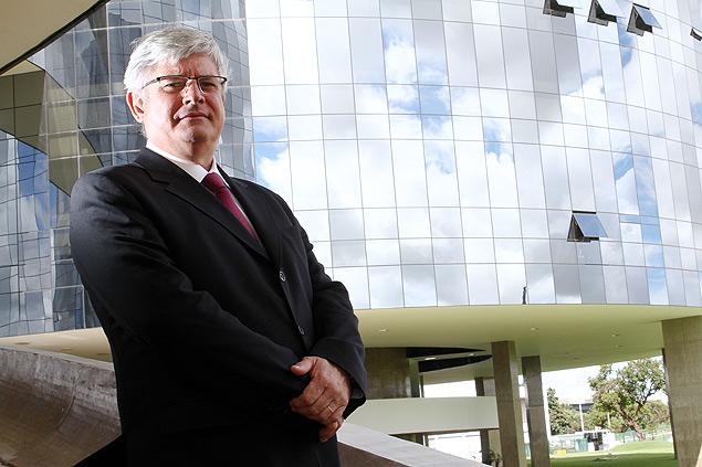 Rodrigo Janot, atual procurador geral de Justiça e chefe do Ministério Público Federal