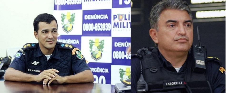 O coronel Wilquerson Sandes, comandante da Policia Militar em Várzea Grande e o vereador Pery Taborelli que estão defendendo o Projeto Fecha Bar como melhor tática para redução dos índices de violência no município de Várzea Grande