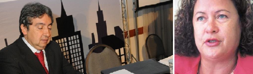 O desembargador Marcio Vidal, atual vice-presidente do Tribunal de Justiça de Mato Grosso que está sendo questionado no Conselho Nacional de Justiça pela juíza Wandinelma dos Santos, que continua afastada de suas funções, aguardando novo julgamento pelo Pleno do TJMT.