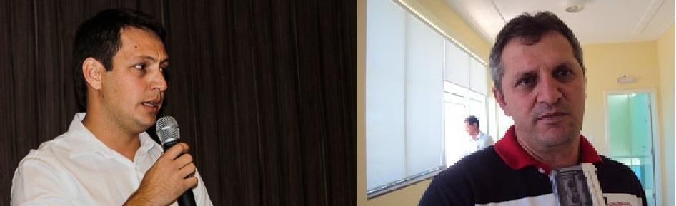 O empresário Rodrigo Barbosa, que conseguiu com rapidez licenças na Sema, controlada pelo PMDB, para abrir garimpo em Livramento, e o deputado Dilceu Dal`Bosco, do DEM, que levanta a hipótese de favorecimento pelo fato do empresário-garimpeiro ser filho do governador-garimpeiro Silval Barbosa. Vamos ver se, além do discurso, Dal`Bosco vai conferir, ítem por ítem, a licença liberada pelo peemedebista José Lacerda, como de direito, e de forma pública