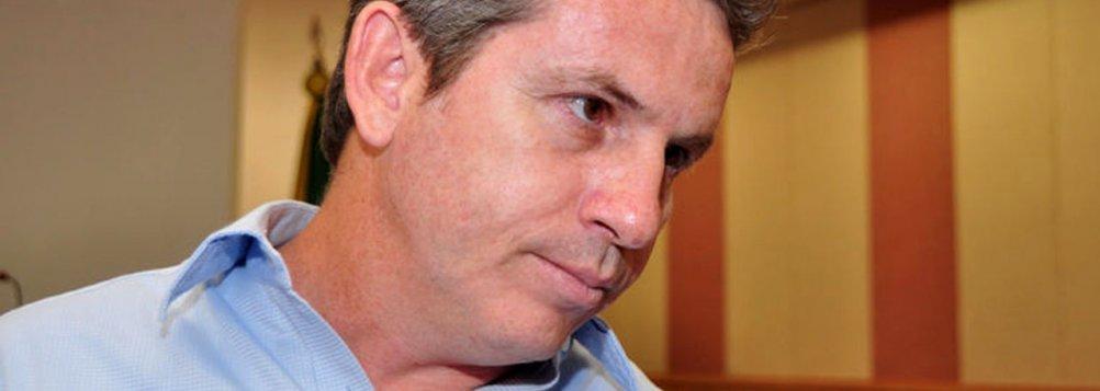 """Mauro Mendes alega que os adversários tentam atingir sua administração com um """"assunto requentado"""". A polêmica da fraude processual no Tribunal Regional do Trabalho voltou à baila depois de reportagem no jornal O Estado de S. Paulo"""