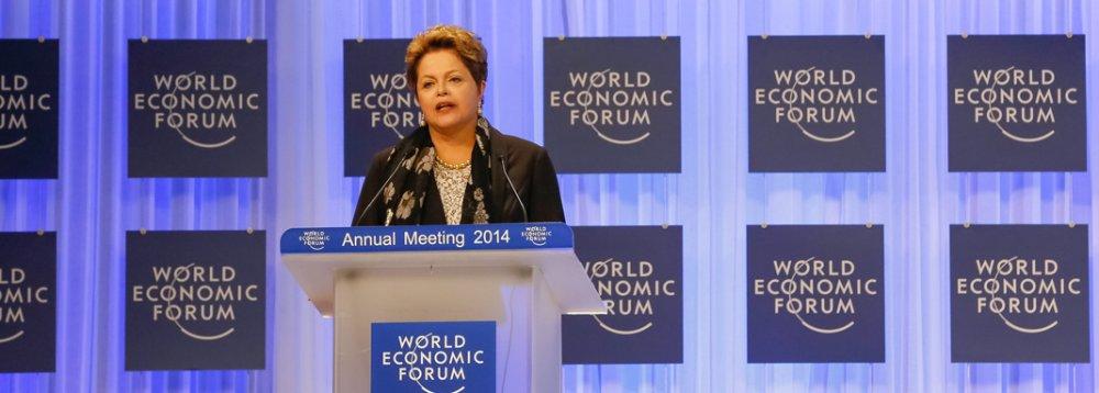 2014 começou com Dilma liderando as pesquisas na disputa pela reeleição e ganhando crescente destaque internacional