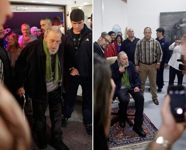 Fidel Alejandro Castro Ruz (Birán, 13 de agosto de 1926) é um revolucionário comunista cubano, primeiro presidente do Conselho de Estado da República de Cuba (1976-2008). Até 2006 foi primeiro-secretário do Comitê Central do Partido Comunista de Cuba