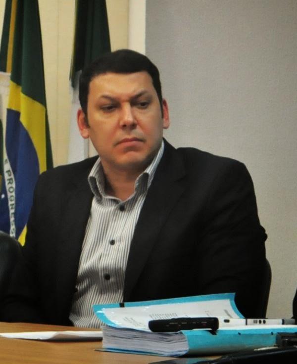 Marcos Regenold, promotor de Justiça, lotado, atualmente, no Grupo de Atuação Especial Contra o Crime Organizado (Gaeco)