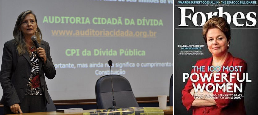 """A contadora, administradora e auditora fiscal da Receita Federal Maria Lucia Fatorelli questiona a atitude do governo da presidente Dilma que não investe na redução da dívida pública. """"Não podemos continuar destinando a maior parcela do orçamento federal ao pagamento de uma dívida nunca auditada, com fortes indícios de ilegalidades e ilegitimidades, enquanto faltam recursos para as necessidades sociais básicas da população e para a garantia dos direitos e da dignidade no trabalho dos servidores públicos brasileiros"""" - argumenta a presidente da atual presidente do Sindicato Nacional dos Auditores Fiscais (Unafisco Sindical),"""