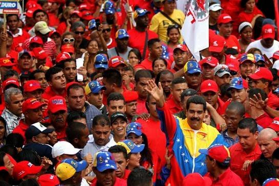 Nicolas Maduro e o POVO