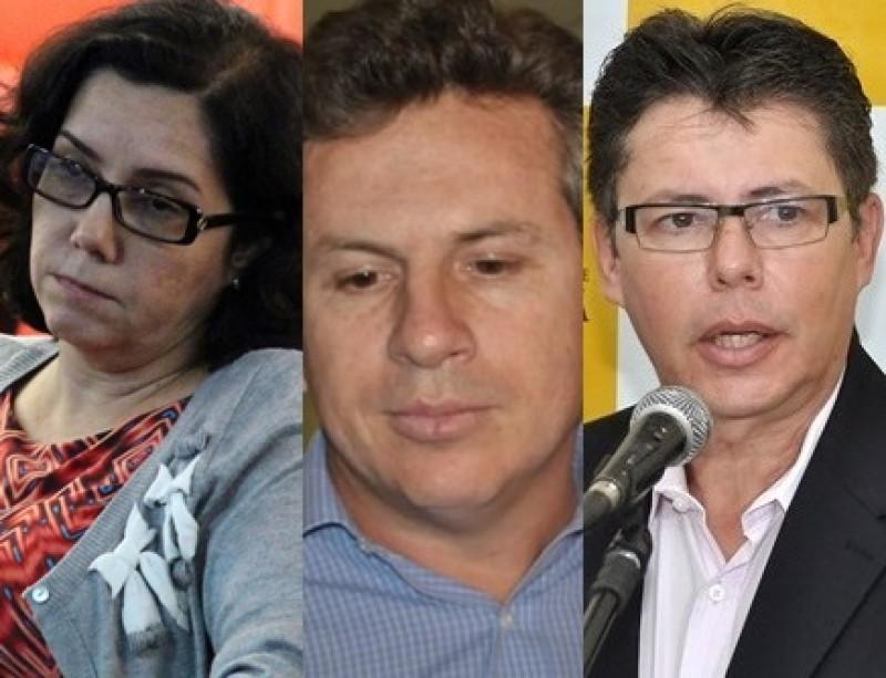 Carla Reita, juíza da Justiça do Trabalho, Mauro Mendes, prefeito de Cuiabá e Pascoal Santullo, empresário, sócio do prefeito, secretário da Prefeitura de Cuiabá e marido da juiza