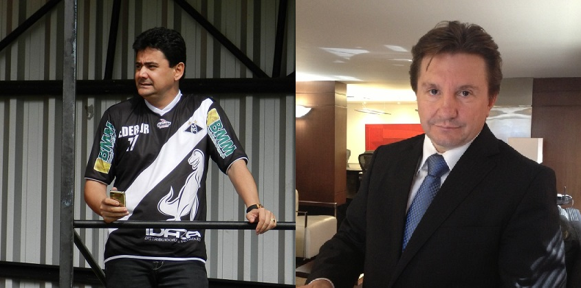 Éder Moraes, homem forte nos governos de Blairo Maggi e Silval Barbosa e o empresário Valdir Piran