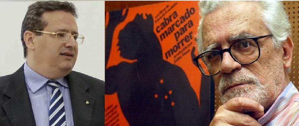 Saíto, que é juiz de Direito em Cuiabá, Mato Grosso e Eduardo Coutinho, cineasta que teve fim trágico, vítima de assassinato praticado pelo próprio filho, que padece de doença mental