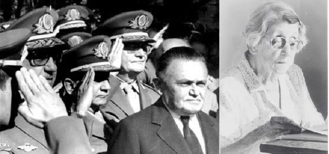 O general Humberto de Alencar Castelo Branco, primeiro general do período da ditadura militar que se impôs ao Brasil entre 1964 e 1985, e dona Helena Greco,  que já tinha sessenta anos quando se engajou na luta contra a ditadura militar. Fundou e dirigiu o Movimento Feminino pela Anistia, em Minas Gerais