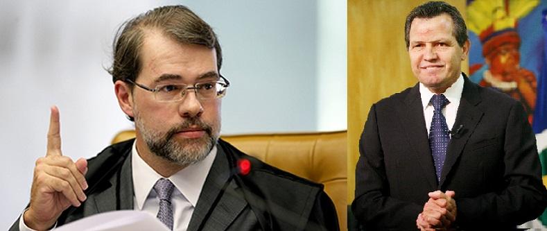 O ministro Dias Toffoli, do STF, concordou com a tese defendida pelo governador Silval Barbosa de que a Lei aprovada pelos deputados estaduais padece de vicio de iniciativa.
