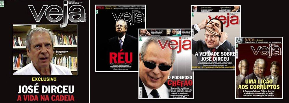"""Depois do ataque ao líder petista Zé Dirceu, agora são os Advogados Ativistas que estão no alvo da revista """"Veja"""", suprassumo do sectarismo editorial de direita no Brasil"""