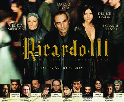 A mais recente montagem, nos palcos brasileiros, teve Jô Soares na direção e Marco Ricca como o personagem central