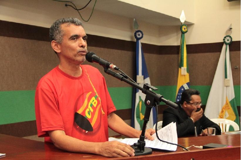 Miranda Muniz é militante do Partido Comunista do Brasil em Mato Grosso