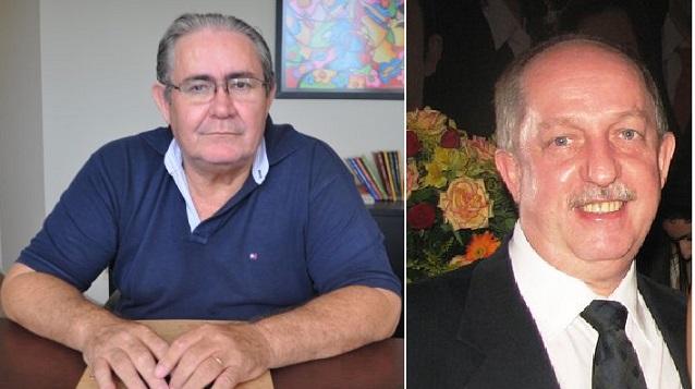 Luís Antônio Siqueira Campos e Raimar Abilio Bottega, advogados em conflito na comarca de Cuiabá, Mato Grosso