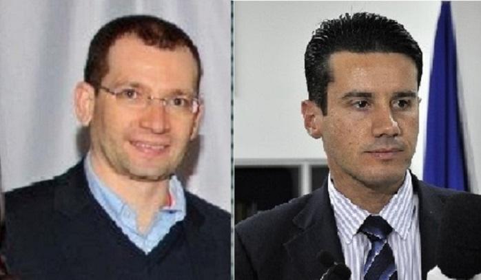 O promotor Carlos Eduardo Silva e o juiz Rodrigo Curvo, que restabeleceram o patrimônio de Cuiabá, atentos ao alerta do urbanista José Antônio Lemos