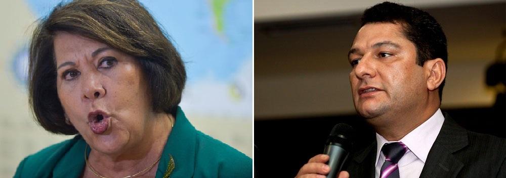 Eliana Calmon, que pontificou no Conselho Nacional de Justiça e Julier Sebastião, que teve atuação decisiva no desbaratamento do crime organizado em Mato Grosso, são personalidades que trocaram as atividades forenses pela militância político-partidária. Calmon, no bloca do direita, apoiando o candidato Eduardo Campos e Julier no bloco da esquerda, reforçando a campanha pela reeleição de Dilma Roussef
