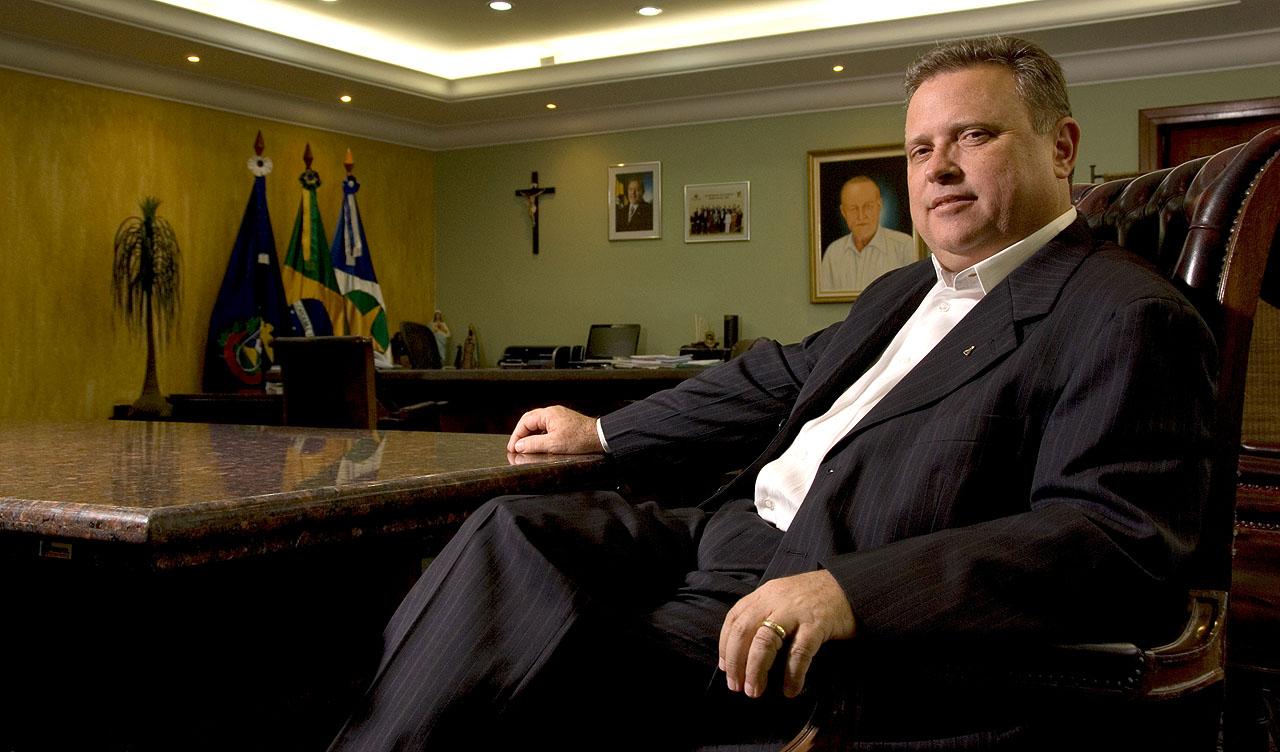 Blairo Maggi, atual senador da República pelo PR, foi governador de Mato Grosso por dois mandatos.