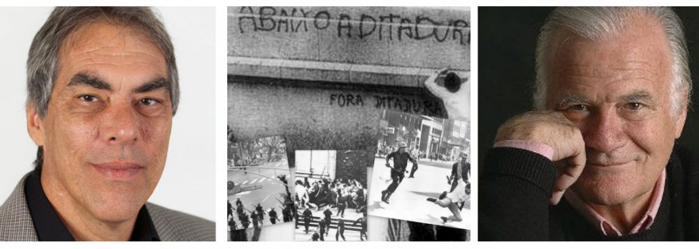 O sociólogo Demetrio Magnoli, o jornalista Mino Carta e a ditadura militar: ainda há muito o que saber, ainda há muito o que explicar