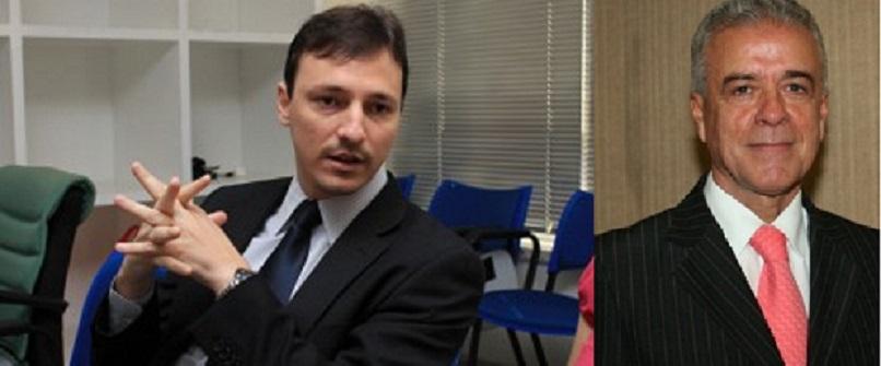 Ulisses Rabaneda, advogado criminal e Rondon Bassil Dower Filho, desembargador que compõe o Pleno e a Primeira Câmara Criminal do Tribunal de Justiça de Mato Grosso