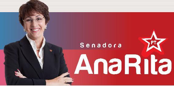 A proposta partiu da senadora Ana Rita, do PT do Espírito Santo, que é assistente social