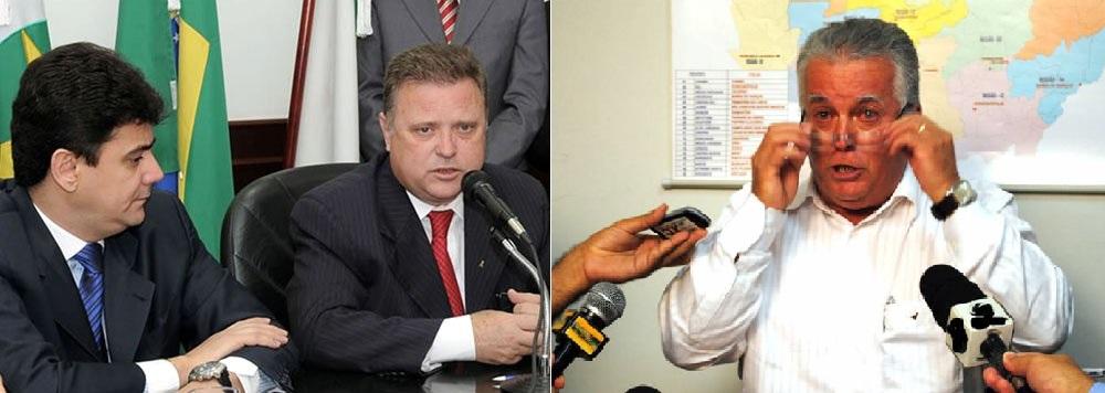 """Éder Moraes, preso e Vilceu Marchetti, alvo de busca e apreensão. A Policia Federal coloca novamente no foco do noticiário policial, algumas das """"estrelas"""" da Era Maggi"""