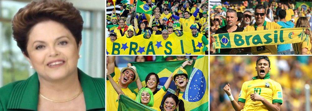 """Os gritos do Itaquerão deixam de ser limão contra Dilma, viram limonada a favor dela e reforçam o bordão dos """"pobres contra os ricos"""" - avalia Eliane Catanhede"""
