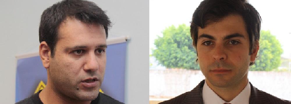 Gustavo Garcia Francisco, delegado de Polícia, e Alexandre Delicato Pampado, juiz de Direito