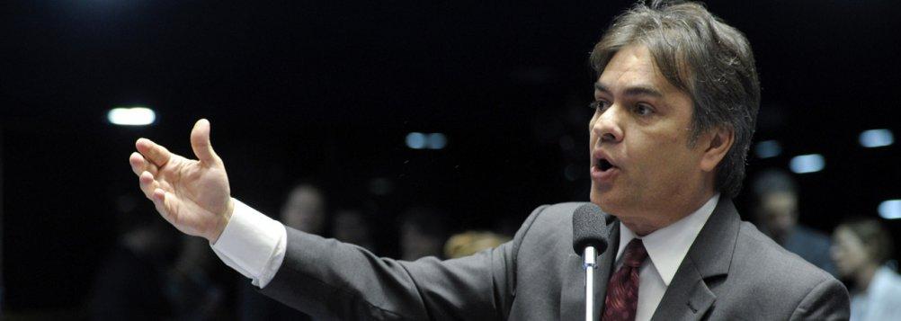 Cássio Cunha Lima, tucano da Paraíba, cuja candidatura a governador está sendo alvo de pedido de impugnação de iniciativa de um eleitor