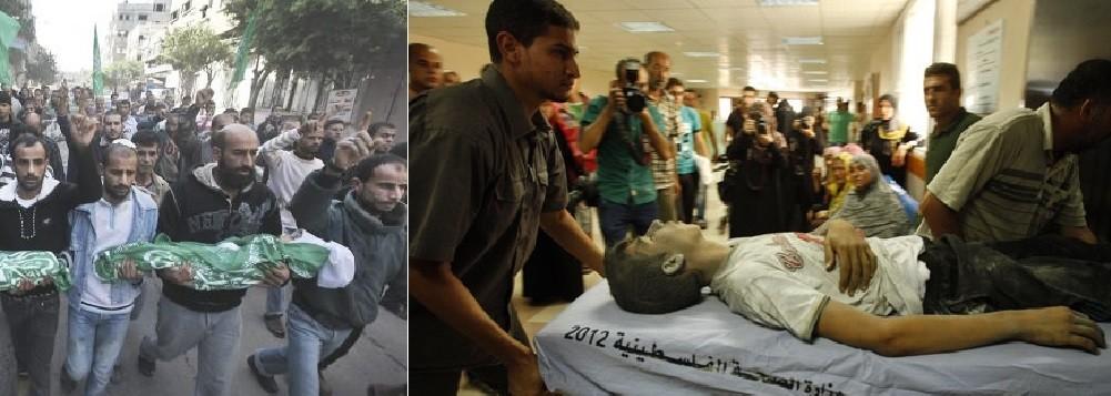 israel continua matando civis em gaza