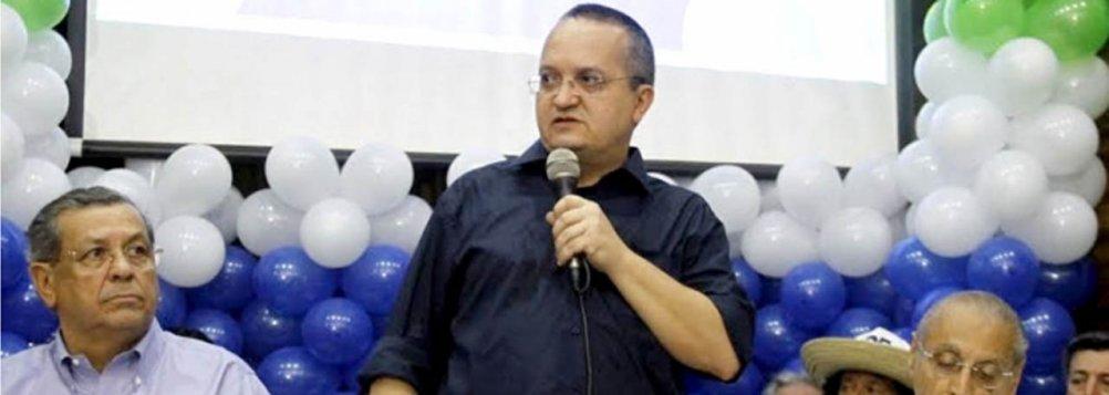 Pedro Taques, senador pelo PDT e candidato a governador pela coligação Coragem e Atitude para Mudar