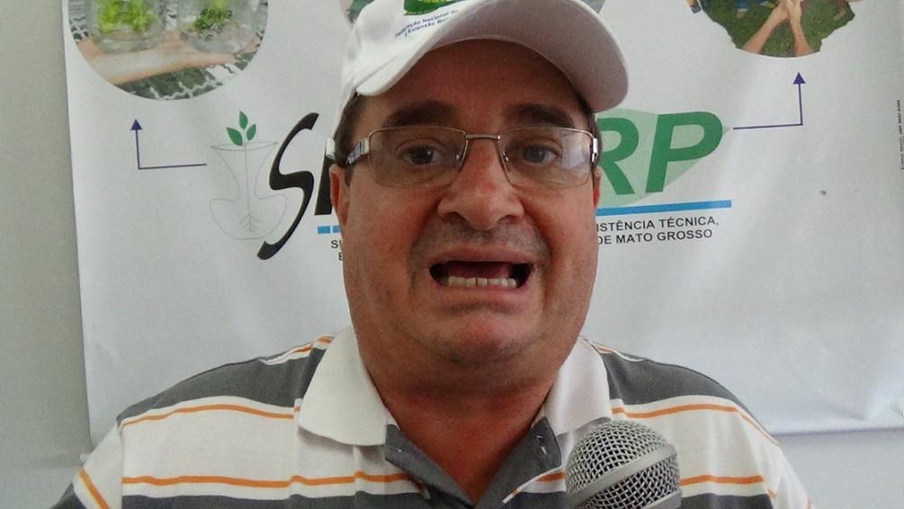 Gilmar Brunetto, o Gauchinho, é extensionista rural, sindicalista e presidente do Sinterp - sindicato dos trabalhadores da Empaer, em Mato Grosso